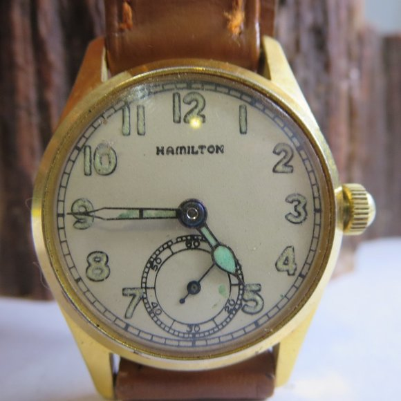 Hamilton Other - WW2 Hamilton Military Issue Mens Winding Watch